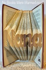 """Nana"" #3 style : : Nana Gift : : Folded book art"