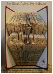 """We're Not Glum"" : : hand folded book art ♥"