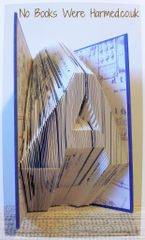 Your choice of GIANT LETTER : : Book ends, kid's rooms, weddings, libraries....