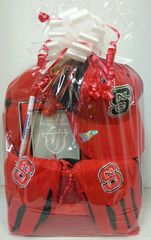 Gift Basket - Collegiate Collection - North Carolina State University - NCSU
