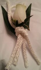 Wedding Groom Boutonniere Rope