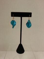 Jewelry Earrings Glass Blue