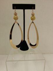 Jewelry Earrings Extra Long Gold Drop