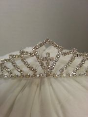 Wedding Tiara Diamond Cross Mini