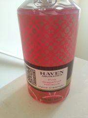 Haven Pink Grapefruit Hibiscus Hand Cleanser