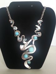 Jewelry Necklace Turquoise Collection Snake