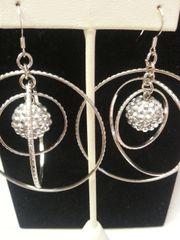 Wedding Earring Sphere
