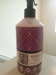 Haven Lavender Vanilla Hand Lotion