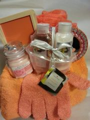 Gift Basket Spa Day Orange