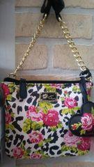 Handbag Betsey Johnson Floral Crossbody