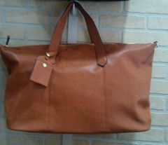 Handbag Weekend Tote Dark Cognac