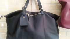 Handbag Weekend Tote Black Nylon