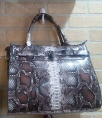 Handbag Snakeskin Satchel
