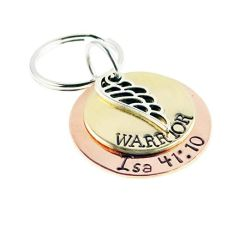 EB Warrior Scripture Keychain