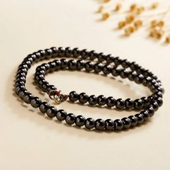 Black Magnetic Hematite Necklace