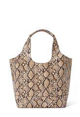 Handbag Oversized Boho Shoulder Snake