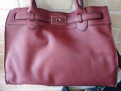 Handbag Turnlock Satchel