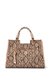Handbag Blush Snake Satchel
