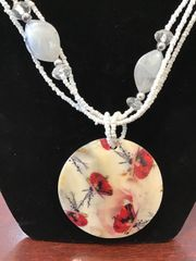 Jewelry Set Caribbean Shell Collection Flowers