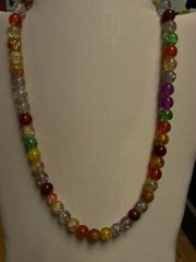 Jewelry Necklace-Multi-Color Ball