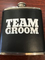 Wedding Flask Team Groom