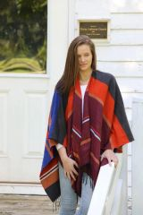 Outerwear Reversible Cape Multi