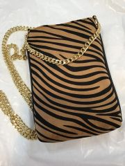 Handbag Chain Strap Phone Case Animal Print