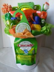 Gift Basket-Dorm Cleaning