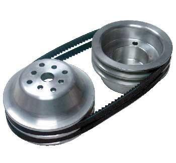 Short Water Pump Bryke Racing ALUMINUM PULLEY KITS 1 to 1 ratio SIZE