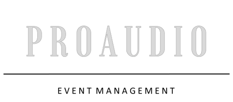 ProAudio Event Management
