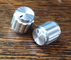"""Aluminum Knob Fluted - 5/8"""" Diameter"""