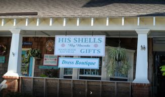 His Shells by Brenda  in Manteo on Roanoke Island in the Outer Banks