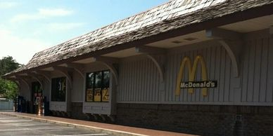 mcdonalds restaurant in Manteo on Roanoke Island in the Outer Banks