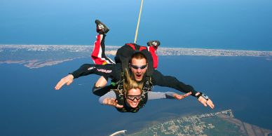 Sky Dive OBX in Manteo on Roanoke Island in the Outer Banks