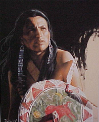 """""""Red Buffalo Medicine"""" - 17.5x14.5 by Julie Kramer Cole, Limited Edition Gilcee Print on Paper"""