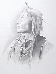 """Wolf Robe"" - 19 x 25 Print from Original Pencil"