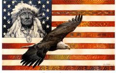 """Spirit of America"" - 19x24.5 by David C Berhens, Limited Edition Print"