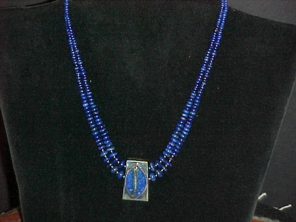 Lapis & Silver Necklace