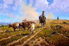 """Texas Legacy"" - 20 x 30 Limited Edition Print"