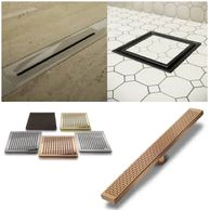 Drain solutions in the highest quality 316 STS. Multiple finishes and unlimited sizes ensure the per