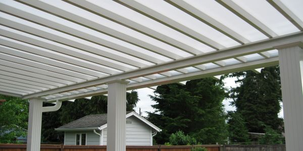 All Lexan Patio Cover