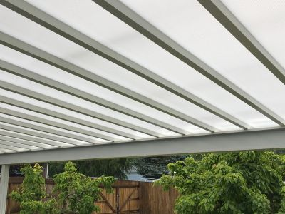 Lexan Patio Cover Installation