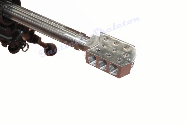"""22"""" 6 5 Creedmoor AR-10 Stainless Straight Fluted Non-Reciprocating Side  Charger Rifle"""