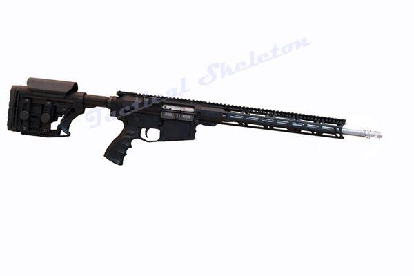 "18"" AR-10 308 Stainless Steel LUTHAR MBA3 W/ 15"" MLOK"