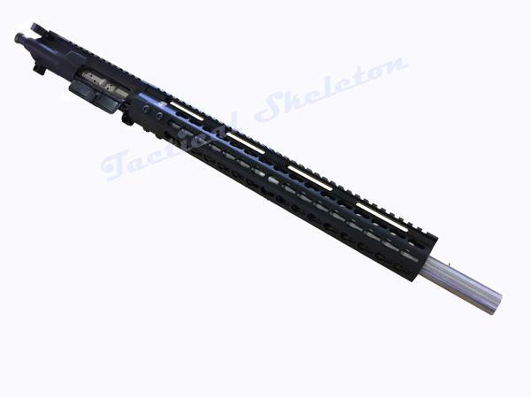 """18"""" AR-15 458 SOCOM Stainless Steel Custom Complete Upper"""