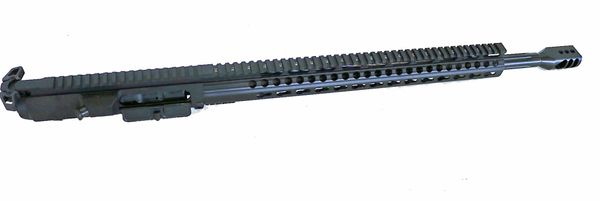 "20"" Straight Fluted Heavy Barrel 6.5 Creedmoor Complete Upper w/16.5"" Skeleton MLOK Handguard"
