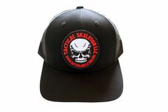 Tactical Skeleton Black Trucker HAT