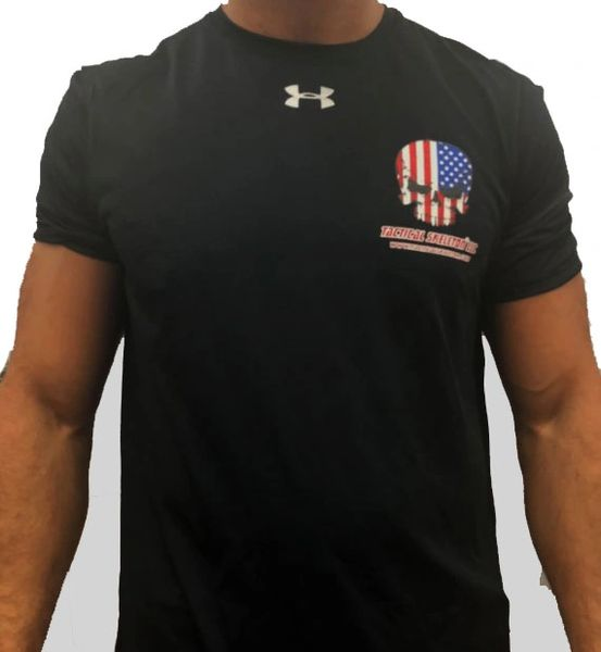 Tactical Skeleton Under Armor Locker Shirt Black