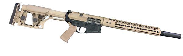 """20"""" AR10 308 HEAVY Barrel Two Tone Rifle w/ LUTHAR MBA-1"""