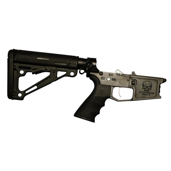 Tactical Skeleton AR15 RIFLE COMPLETE LOWER HOGUE